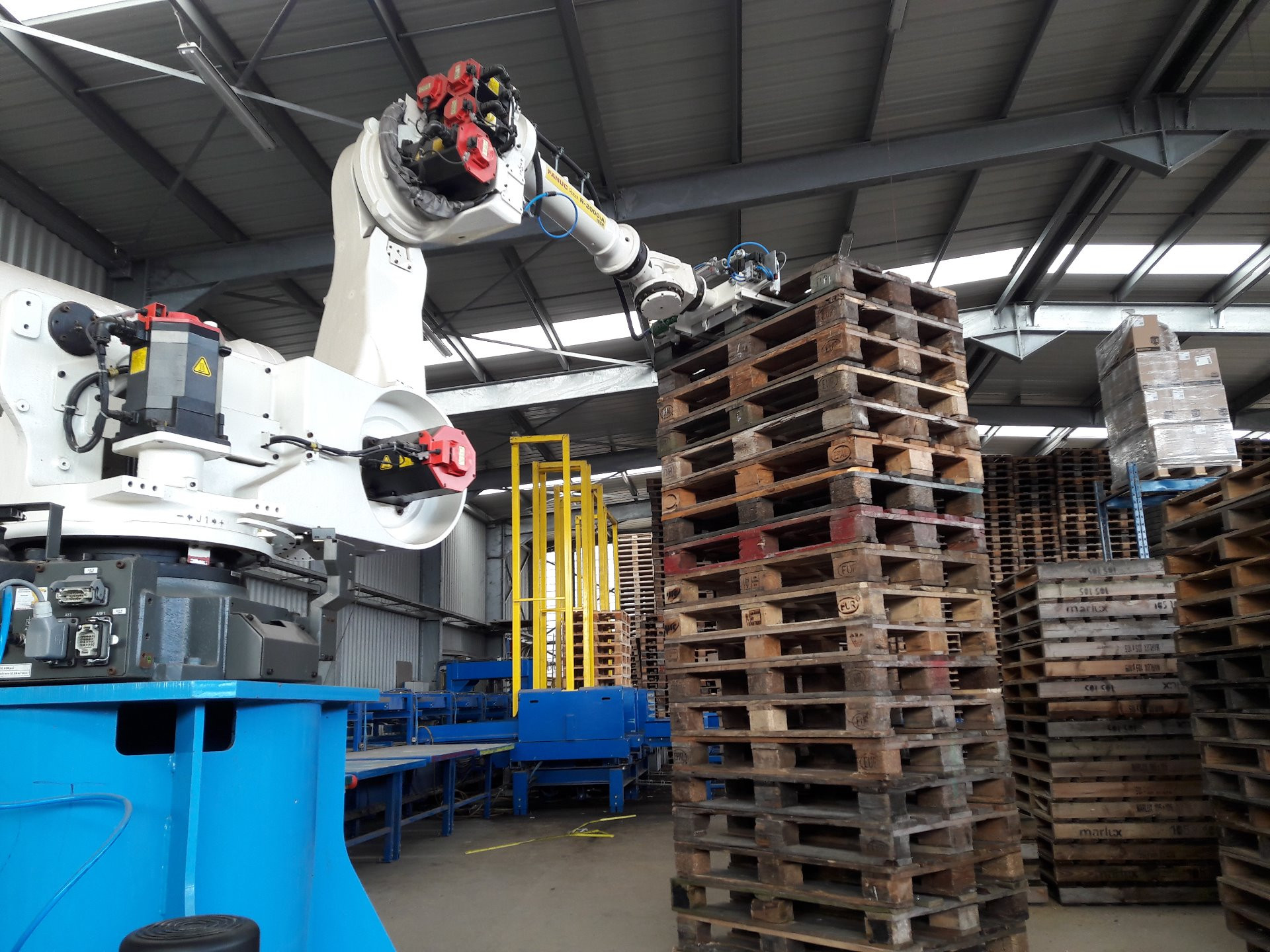 Werkmethode optimalisering, Robots, Technische integratie, BlackBox Robotics